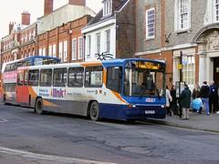 20832 P832FVU (PD3.) Tags: chichester west sussex england uk stagecoach south downs bus buses psv pcv station cathedral city volvo b10m alexander ps 20832 p832fvu p832 fvu