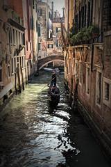 (Artypixall) Tags: italy venice boats gondola canal bridge buildings facades architecture urbanscene
