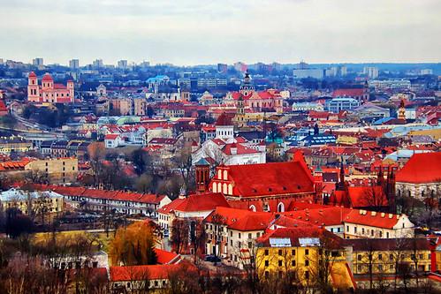 Old town of Vilnius