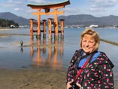 Shinto Shrine Gate (junenreed) Tags: symbolic religious water beach symbol orange china shinto