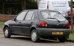 P857 OFL (1) (Nivek.Old.Gold) Tags: 1997 ford fiesta 16v lx 5door 1242cc