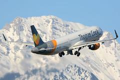 G-TCDF (toptag) Tags: airbusa321211 gtcdf inn lowi innsbruck aviation tirol austria winter snow mountains