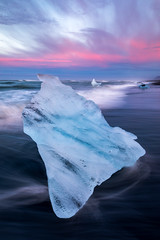 Iceland Diamond Beach with iceberg by Scott Donschikowski.jpg (Scott Donschikowski) Tags: diamondbeach iceland blue beach water wet cold seascape summer jökulsárlón iceberg ice