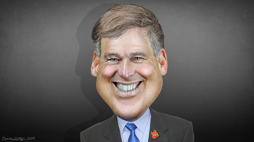 Jay Inslee - Caricature