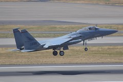 84-0030 (LAXSPOTTER97) Tags: usaf united states air force mcdonnell douglas f15c eagle 142nd 142ndfw 123rd 123rdfs fighter wing squadron redhawks oregon national guard 840030 cn c333 ln 941 aviation airport airplane kpdx