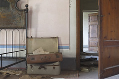 Villa Molino (Sean M Richardson) Tags: abandoned villa italia suitcase memories travel explore canon photography decay details color light depth vintage old derelict 50mm