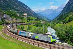 Gotthardbahn (Félix_252) Tags: wassen gotthardbahn bls