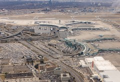 Toronto Airport (Karen_Chappell) Tags: travel aerial toronto canada ontario plane airport landscape city urban cityscape flying flight buildings architecture