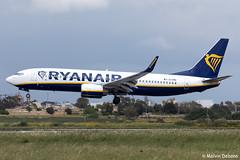 Ryanair Boeing 737-8AS  |  EI-EMC  |  LMML (Melvin Debono) Tags: ryanair boeing 7378as | eiemc lmml cn 38510 melvin debono spotting canon 5d eos mark iv 100400mm plane planes photography airport airplane aviation aircraft malta mla