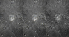 Copernicus (Alex) : postprocessing comparison (Club Astro PSA) Tags: astro astronomy astronomie astrophoto astrophotography moon lune sky ciel night nuit cratere telescope telescop lens photo copernicus resolution topaz sharpen stabilize detail detailed zoom stacking video film wavelet stacked stack celestron c8