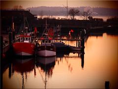 Evening Mood in the Harbor of Niendorf / Baltic Sea (Ostseetroll) Tags: deu deutschland geo:lat=5399253223 geo:lon=1081439506 geotagged hafen niendorfostsee schleswigholstein abendstimmunghafen eveningmood harbor balticsea boote boats olympus em10markii