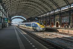 Eurostar 4025/4026, Haarlem (Dennis te D) Tags: eurostar 4025 4026 9114 london londen amsterdam haarlem omleiding