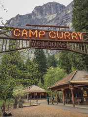 Camp Curry (Katelynn Manz) Tags: yosemite national park valley sierra sierras nevada mountain montanas montagnes cliff cliffs granite rock domes conifers california ca usa wander wanderlust explore adventure dream nature conservation