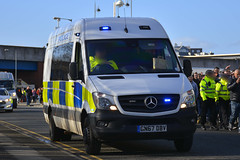 GN67 DBV (S11 AUN) Tags: cleveland police mercedes sprinter public order vehicle pov support unit neighbourhood policing cell van 999 emergency gn67dbv