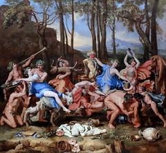 IMG_4203F Nicolas Poussin. 1594-1665. Rome.    Le Triomphe de Pan The Triumph of Pan. 1636.    Londres National Gallery. (jean louis mazieres) Tags: peintres peintures painting musée museum museo lafemmedanslapeintureeuropéenne thewomanineuropeanpainting