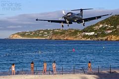 SBH as we love it (andras mihalik) Tags: sbh tffj st bart saint barthelemy leeward island caribbean baie de jean trade wind aviation pilatus pc12 glamour pentax