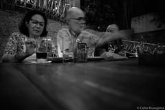 Fotografia Brasil (Celso Kuwajima) Tags: people bw leicam4 leicasuperangulon13421mm kodaktmax100 analogphotography motionblur 20190243 sãopaulo brazil br