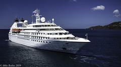 Star Pride. (MWBee) Tags: starpride stgeorges grenada caribbean mwbee nikon d750 boat sea liner cloud windstarcruises