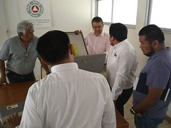 En coordinación con el Infonavit trabajamos en la colocación de postes en los que se instalará el SISTEMA DE ALERTAMIENTO SÍSMICO en tres unidades habitacionales de la capital del Estado (2)