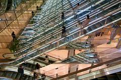 20190302_RX_02608 (NAMARA EXPRESS) Tags: travel construction structure escalator reflection light mirror marion daytime spring indoor color yurakucho tokyo japan sony rx0 dscrx0 carlzeiss tessar t 477 namaraexp