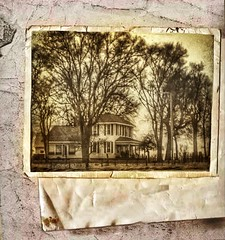 Faded memory... (Sherrianne100) Tags: memory vintage oldphoto oldhouse
