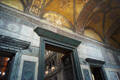 The Emperor door (Insher) Tags: islamic istanbul byzantium hagiasophia ayasofya church door turkey ancient