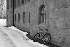 Joensuu - Finland (Sami Niemeläinen (instagram: santtujns)) Tags: joensuu suomi finland pohjoiskarjala north carelia sigma 30mm city kaupunki monochrome mustavalkea cityhall kaupungintalo