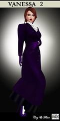 Vanessa in Purple (CogandFleur) Tags: victorian edwardian turnofthecentury belleepoque