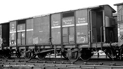c.08/1964 - Cottingham South, Hull, East Yorkshire. (53A Models) Tags: britishrailways fs ferroviedellostato riv ferryvan fb1091457 goodswagon freightcar cottinghamsouth hull east yorkshire train railway locomotive railroad