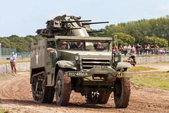 M16 15th September 2018 #2 (JDurston2009) Tags: m16halftrack tigerday tigerdayx bovington bovingtoncamp dorset tankmuseum thetankmuseum spaa halftrack