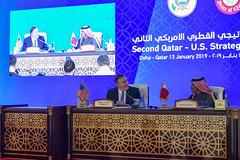 U.S.-Qatar Strategic Dialogue in Doha, Qatar (U.S. Department of State) Tags: qatar mikepompeo