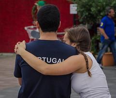 Consolation (frankmh) Tags: people teenager gymnast portuguese helsingborg eurogym skåne sweden