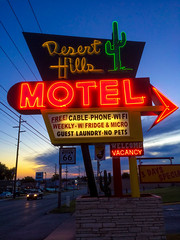 Desert Hills (Thomas Hawk) Tags: america deserthillsmotel oklahoma route66 tulsa usa unitedstates unitedstatesofamerica cactus motel neon us fav10 fav25 fav50 fav100