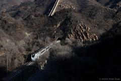 I_B_EKQZ4329 (florian_grupp) Tags: asia china train railway railroad beijing peking normalgauge cr s2 badaling yaqing qinglongqiao mountain chinesewall historic station ndj3