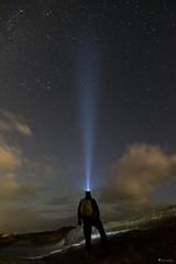Der Blick in die Ferne (normen.nikon) Tags: d810 nikon 24mm berlebach novoflex sterne nacht himmel natur norderney