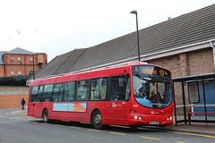 Go North East 4980 / NK54 NUM (TEN6083) Tags: northshields rudyerdstreet eclipse wrightbus b7rle volvo nk54num 4980 gonortheast transport buses publictransport bus nebuses