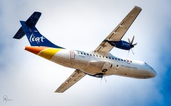 LIAT | V2-LIK | ATR 42-600 | BGI (Terris Scott Photography) Tags: aircraft airplane aviation liat atr 42600 plane spotting nikon d750 f28 travel barbados jet jetliner long exposure tamron 70200mm di vc usd g2