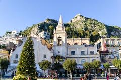 Taormina, Sicily (jbdodane) Tags: church europe italy sicily street taormina