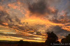 A sky of many colours (James Dun) Tags: sunset clouds layers rain thunderstorms weather event autumn heat humidity flooding lightning colours sky brisbane queensland australia nikon d7000 2019 season
