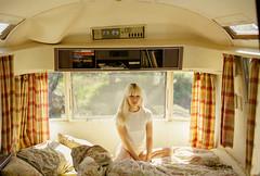 Britni (Aboutlight_) Tags: la airstream beauty blond naturallight natural model moody mood malibu