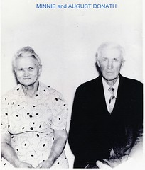 Minnie [Schmidt] and August Donath