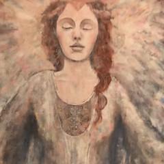 568 (Cheryl Gaer Barlow) Tags: spiritual angels painting angel heaven