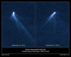 Six-tailed Asteroid P/2013 P5 (NASA Hubble) Tags: asteroid p2013p5 solarsystem hubble hubblespacetelescope hst space cosmos astronomy nasa
