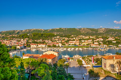 Port of Rab (Shawn Harquail) Tags: croatia port rab shawnharquail travel boat landscape mountain outdoor panorama sailboat seascape shawnharquailcom travelphotography vista water