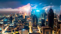 Midnight in Kuala Lumpur. (TAF27) Tags: kl nightlife malaysia kualalumpur longexposure petronas klcc tf2049 midnightinkl