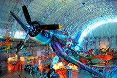 My Dream Plane: The Corsair F4U (Eclectic Jack) Tags: ddg generator dream deep processing processed process post manipulated corsair f4u museum blue wwii fighter aviation plane airplane