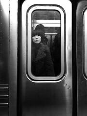 Q (ShelSerkin) Tags: shotoniphonex shotoniphone hipstamatic iphone iphoneography squareformat mobilephotography streetphotography candid portrait street nyc newyorkcity gothamist blackandwhite