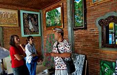 INDONESIEN, Bali , Galerie in Ubud, 17959/11185 (roba66) Tags: bali urlaub reisen travel explore voyages rundreise visit tourism roba66 asien asia indonesien indonesia insel island île insulaire isla kunst galerie art painting painture künstler gemälde