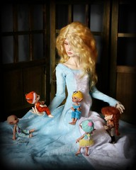 Tell Us A Story (wizgerg3) Tags: dollstown elf realpuki fairyland aki soso papilio titi kaka