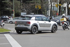 2014 Citroën C4 Cactus Feel Edition Silver (coopey) Tags: 2014 citroën c4 cactus feel edition silver